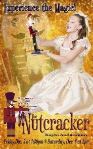 Ketchikan Theater Ballet Nutcracker Dec. 5th and 6th. Image courtesy of http://ktbdance.com/current.html