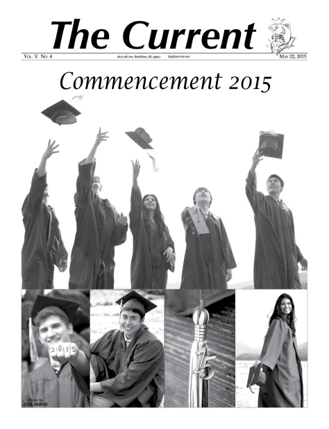 Graduation is Sunday. Click on CURRENT for the commencement issue of The Current.