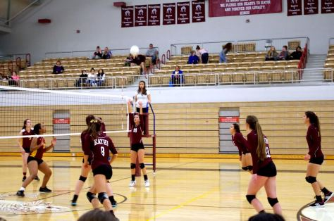 Kayhi Volleyball plays the Lady Braves over the weekend.  COURTNEE MCDOWELL- JONES