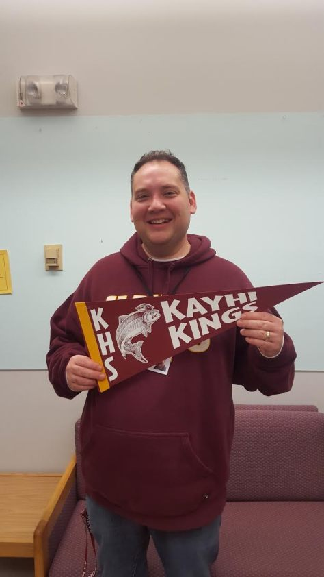 Principal Bob Marshall is in his first year at Kayhi.
